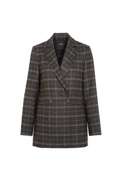 Maje Checked Blazer