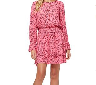 Jessica Simpson Ara Long Sleeve Dress