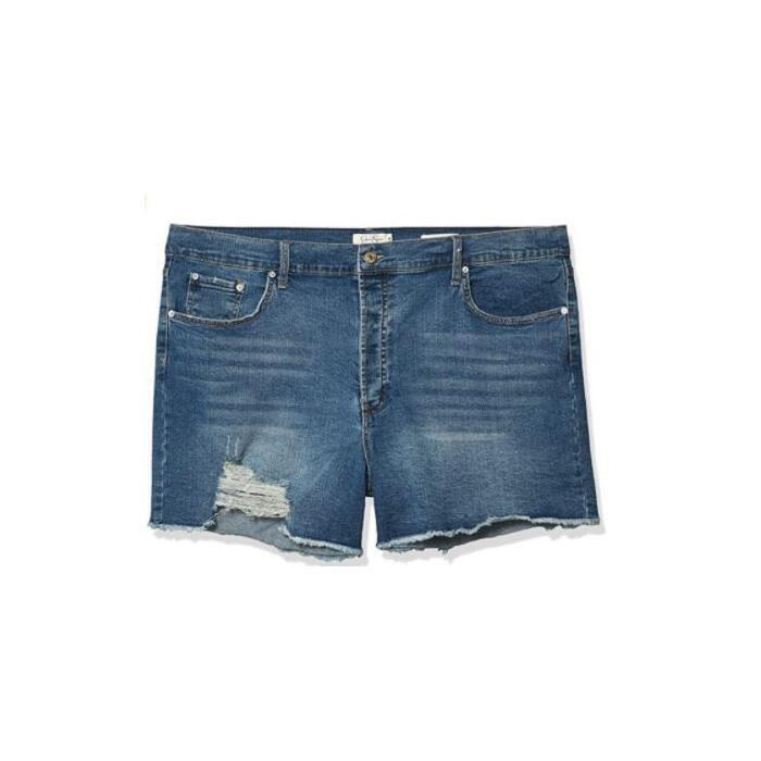 Jessica Simpson Infinite High Waist Denim Shorts