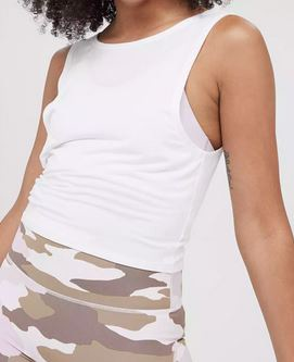 American Eagle Aerie Offline Twist Crop Top