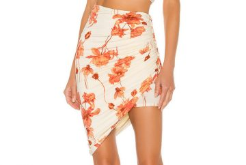 House of Harlow 1960 Rika Mini Skirt