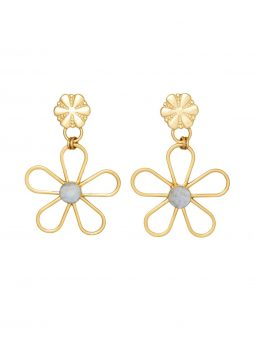 Brinker & Eliza Petunia Earrings
