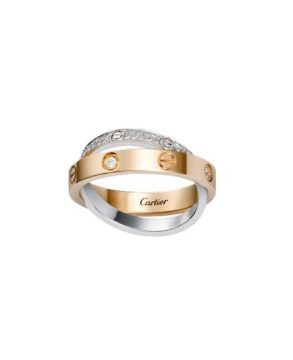 Cartier Love Diamond Paved Ring