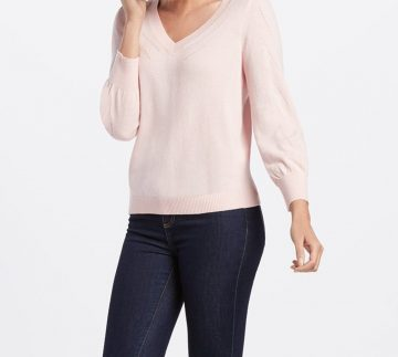 Draper James Puff Sleeve Sweater