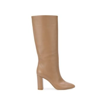 Gianvito Rossi Laura 85 Leather Boots