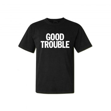 Rosser Riddle Good Trouble Shirt