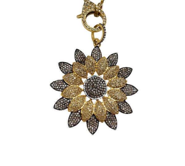 Woods Fine Jewelry Starburst Pendant